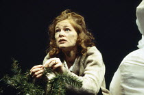 Clare Holman (Harper Amaty Pitt) in PERESTROIKA, part 2 of ANGELS IN AMERICA by Tony Kushner at the Cottesloe Theatre, National Theatre (NT), London SE1 20/11/1993  music: Paddy Cunneen design: Ni...