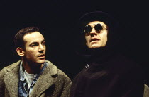 l-r: Jason Isaacs (Louis Ironson), Stephen Dillane (Prior Walter) in PERESTROIKA, part 2 of ANGELS IN AMERICA by Tony Kushner at the Cottesloe Theatre, National Theatre (NT), London SE1 20/11/1993 &#x...