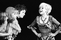 Barbara Windsor as Marie Lloyd in SING A RUDE SONG at the Greenwich Theatre, London SE10 18/02/1970  music: Ron Grainer lyrics: Ned Sherrin & Caryl Brahms with Alan Bennett set design: Roger Butli...