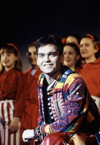 Phillip Schofield (Joseph) in JOSEPH AND THE AMAZING TECHNICOLOR DREAMCOAT at Labatt's Apollo Hammersmith London W6 27/02/1996 music: Andrew Lloyd Webber lyrics: Tim Rice design: Mark Thompson lig...