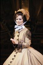Virginia McKenna (Anna Leonowens) in THE KING AND I at the London Palladium, London W1 12/06/1979  music: Richard Rogers lyrics & book: Oscar Hammerstein II set design: Peter Wolf costumes: Irene...