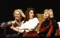 l-r: Vanessa Redgrave, Julia Swift, Frances de la Tour in CHEKHOV'S WOMEN at the Lyric Theatre Hammersmith, London W6 07/03/1989  directed by Vanessa Redgrave & David Hargreaves