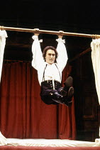 Denis Lawson (Horner) in LUST by the Heather Brothers at the Theatre Royal Haymarket, London SW1 19/07/1993  after 'The Country Wife' by William Wycherley design: Geoff Rose lighting: Ken Miller c...