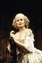 Sophie Aldred (Margery) in LUST by the Heather Brothers at the Theatre Royal Haymarket, London SW1 19/07/1993  after 'The Country Wife' by William Wycherley design: Geoff Rose lighting: Ken Miller...