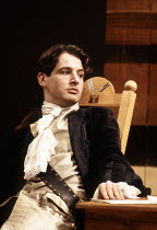 Jeremy Northam (Mirabell) in THE WAY OF THE WORLD by Congreve at the Lyric Theatre Hammersmith, London W6 20/10/1992  set design: Tom Piper costumes: Moggie Douglas lighting: Steven Wentworth dire...