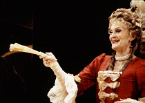 Sheila Hancock (Lady Wishfort) in THE WAY OF THE WORLD by Congreve at the Lyric Theatre Hammersmith, London W6 20/10/1992  set design: Tom Piper costumes: Moggie Douglas lighting: Steven Wentworth...
