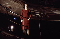 Fiona Shaw (May) in FOOTFALLS by Samuel Beckett at the Garrick Theatre, London WC2 15/03/1994  design: Hildegard Bechtler lighting: Jean Kalman director: Deborah Warner