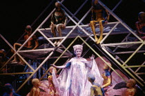Lillian Watson (Tytania) with fairies in A MIDSUMMER NIGHT'S DREAM by Benjamin Britten after Shakespeare at the The Royal Opera, Covent Garden, London WC2 17/06/1986  music: Benjamin Britten libre...