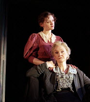 l-r: Anne-Marie Duff (Lyudmilla), Sheila Hancock (Vassa) in VASSA by Maxim Gorky at the Albery Theatre, London WC2 20/01/1999  an Almeida Theatre Company production adapted and directed by Howard...