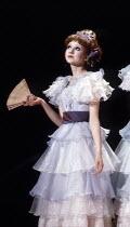 Bonnie Langford (Kate) in THE PIRATES OF PENZANCE by Gilbert & Sullivan at the Theatre Royal Drury Lane, London WC2 26/05/1982  music: Arthur Sullivan lyrics: W S Gilbert set design: Bob Shaw & Wi...