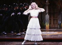 Pamela Stephenson (Mabel) in THE PIRATES OF PENZANCE by Gilbert & Sullivan at the Theatre Royal Drury Lane, London WC2 26/05/1982  music: Arthur Sullivan lyrics: W S Gilbert set design: Bob Shaw &...