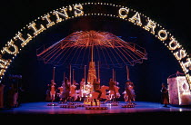 CAROUSEL by Rodgers & Hammerstein at the Lyttelton Theatre, National Theatre (NT), London SE1 12/1992  music: Richard Rodgers book & lyrics: Oscar Hammerstein II design: Bob Crowley lighting: Paul...