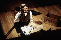 David Firth (John Wilkes Booth) in ASSASSINS at the Donmar Warehouse, London WC2 29/10/1992  music & lyrics: Stephen Sondheim book: John Weidman design: Anthony Ward lighting: Paul Pyant director:...