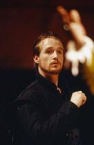 Linus Roache (Don Juan Tenorio) in THE LAST DAYS OF DON JUAN by Nick Dear at the Royal Shakespeare Company (RSC), Swan Theatre, Stratford-upon-Avon 05/04/1990  after Tirso de Molina translator: Ka...