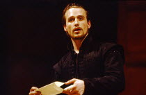 Linus Roache (Don Juan Tenorio) in THE LAST DAYS OF DON JUAN by Nick Dear at the Royal Shakespeare Company (RSC), Swan Theatre, Stratford-upon-Avon 05/04/1990  after Tirso de Molina translator: Ka...