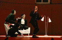 A CLOCKWORK ORANGE 2004 at the Royalty Theatre, London WC2 26/05/1990  a Royal Shakespeare Company production written by Anthony Burgess in collaboration with Ron Daniels music by The Edge & Bono...