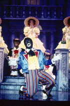 THE COLORED MUSEUM by George C Wolfe at the Royal Court theatre, London SW1 03/08/1987  a New York Shakespeare Festival & Joseph Papp production set design: Brian Martin costumes: Nancy L Konrardy...