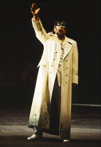James Morris (Wotan) in DAS RHEINGOLD by Wagner at the The Royal Opera, Covent Garden, London WC2 16/09/1991  conductor: Bernard Haitink design: Peter Sykora lighting: John B Read director: Gotz F...