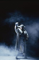 Donald Maxwell (Donner) in DAS RHEINGOLD by Wagner at the The Royal Opera, Covent Garden, London WC2 16/09/1991  conductor: Bernard Haitink design: Peter Sykora lighting: John B Read director: Got...