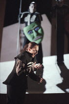 Deborah Polaski (Brunnhilde) in DIE WALKURE by Wagner at the The Royal Opera, Covent Garden, London WC2 30/09/1996  conductor: Bernard Haitink design: Nigel Lowery lighting: Pat Collins director:...
