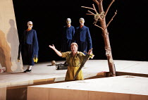 Siegfried Jerusalem (Siegfried) with Forest Birds in SIEGFRIED by Wagner at the The Royal Opera, Covent Garden, London WC2 27/03/1995 conductor: Bernard Haitink design: Nigel Lowery lighting: Pat...