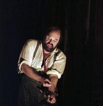 Kurt Rydl (Hagen) in GOTTERDAMMERUNG by Wagner at the The Royal Opera, Covent Garden, London WC2 14/10/1995  conductor: Bernard Haitink design: Nigel Lowery lighting: Pat Collins movement: Matthew...