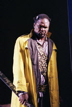 Willard White (Wotan) in DAS RHEINGOLD by Wagner at the Theatre Royal, Glasgow 27/01/1989 a Scottish Opera production conductor: John Mauceri design: Nigel Lowery lighting: David Lovett & Nigel Lowery...