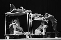 NIGHTWALK created by The Open Theatre collective of New York set design: Big Mikulewicz costumes: Gwen Fabricant lighting: Arden Fingerhut directors: Joseph Chaikin & Roberta Sklar The Roundhouse, Lon...