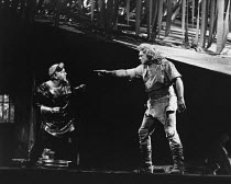 l-r: Ragnar Ulfung (Mime), Jean Cox (Siegfried) in SIEGFRIED by Wagner at the The Royal Opera, Covent Garden, London WC2 29/09/1976 conductor: Colin Davis set design: Josef Svoboda costumes: Ingrid Ro...