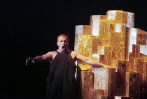 Hartmut Welker (Alberich) in DAS RHEINGOLD by Wagner at the Theatre Royal, Norwich, England 18/06/1997 a Den Norske Opera production conductor: Heinz Fricker design: Kathrine Hysing lighting: John Bis...