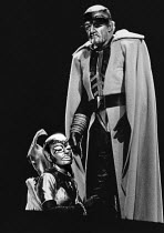 Gwyneth Jones (Brunnhilde), Donald McIntyre (Wotan) in DIE WALKURE by Wagner at the The Royal Opera, Covent Garden, London WC2 12/09/1978 conductor: Colin Davis set design: Josef Svoboda costumes: Ing...