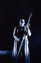James Morris (The Wanderer) in SIEGFRIED by Wagner at the The Royal Opera, Covent Garden, London WC2 04/10/1990 conductor: Bernard Haitink design: Peter Sykora lighting: John B Read director: Gotz Fri...