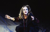 Joanne Pearce (Ophelia) in HAMLET by Shakespeare at the Royal Shakespeare Company (RSC), Barbican Theatre, London  18/12/1992 design: Bob Crowley lighting: Alan Burrett fights: Malcolm Ranson movement...