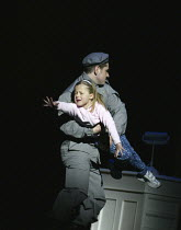 Offred's daughter is taken away in THE HANDMAID'S TALE at English National Opera (ENO), London Coliseum, London WC2 03/04/2003 music: Poul Ruders libretto: Paul Bentley after the novel by Margaret Atw...