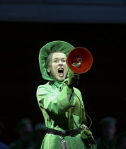 Helen Field (Aunt Lydia) in THE HANDMAID'S TALE at English National Opera (ENO), London Coliseum, London WC2 03/04/2003 music: Poul Ruders libretto: Paul Bentley after the novel by Margaret Atwood con...