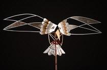 bird puppet in THE MASK OF ORPHEUS at English National Opera (ENO), London Coliseum 21/05/1986 music: Harrison Birtwistle libretto: Peter Zinovieff conductor: Elgar Howarth design: Jocelyn Herbert lig...