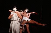 THE MASK OF ORPHEUS at English National Opera (ENO), London Coliseum 21/05/1986 music: Harrison Birtwistle libretto: Peter Zinovieff conductor: Elgar Howarth design: Jocelyn Herbert lighting: Andy Phi...