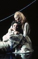 Francois le Roux (Pelleas), Frederica von Stade (Melisande) in PELLEAS ET MELISANDE by Debussy at The Royal Opera, London WC2 24/03/1993 conductor: Claudio Abbado design: Yannis Kokkos lighting: Vanni...