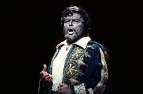 Vladimir Atlantov (Otello) in OTELLO by Verdi at the The Royal Opera, Covent Garden, London WC2 14/04/1987 music: Giuseppe Verdi libretto: Arrigo Boito after Shakespeare's OTHELLO conductor: Edward Do...