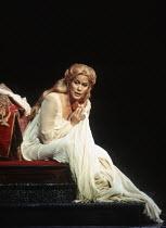 Kiri Te Kanawa (Desdemona) in OTELLO by Verdi at the The Royal Opera, Covent Garden, London WC2 23/10/1992 music: Giuseppe Verdi libretto: Arrigo Boito after Shakespeare's OTHELLO conductor: Georg Sol...
