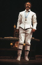 Donald Sinden (Othello) in OTHELLO by Shakespeare at the Royal Shakespeare Company (RSC), Royal Shakespeare Theatre, Stratford-upon-Avon 07/08/1979 design: Pamela Howard lighting: Brian Harris directo...