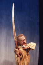 Keith Bartlett (Philoctetes) in PHILOCTETES by Sophocles at the Donmar Warehouse, London WC2 02/12/1988 a Cheek by Jowl production translated by Kenneth McLeish design: Nick Ormerod lighting: Steve Ra...