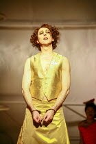 Alan Cumming (Dionysus) in THE BACCHAE by Euripides at the Lyric Hammersmith, London W6 07/09/2007 a National Theatre of Scotland production new version by David Greig design: Miriam Buether lighting:...