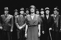 Jane Lapotaire (Antigone) in ANTIGONE by Sophocles at the Cottesloe Theatre, National Theatre (NT), London SE1 17/05/1984 translated by C A Trypanis design: Alison Chitty lighting: Stephen Wentworth d...