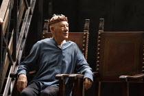 Ian McKellen as Hamlet in HAMLET by Shakespeare opening at the Theatre Royal Windsor, England on 20/07/2021 set design: Lee Newby costumes: Loren Epstein wigs & make-up: Susanna Peretz lighting: Zoe S...