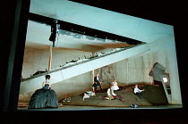 final scene of DON GIOVANNI by Mozart at Glyndebourne Festival Opera, East Sussex, England 15/07/2000 music: Wolgang Amadeus Mozart libretto: Lorenzo da Ponte conductor: Andrew Davis design: Richard H...