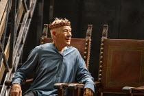 Ian McKellen (Hamlet) in HAMLET by Shakespeare at the Theatre Royal Windsor, England 20/07/2021 set design: Lee Newby costumes: Loren Epstein wigs & make-up: Susanna Peretz lighting: Zoe Spurr directo...