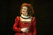 Amanda Drew (Gertrude) in EASTWARD HO! by Ben Jonson, John Marston & George Chapman at the Royal Shakespeare Company (RSC), Swan Theatre, Stratford-upon-Avon 25/04/2002 design: Robert Jones lighting:...