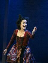 Sasha Behar (Sindefy - Quicksilver's lover) in EASTWARD HO! by Ben Jonson, John Marston & George Chapman at the Royal Shakespeare Company (RSC), Swan Theatre, Stratford-upon-Avon 25/04/2002 design: Ro...