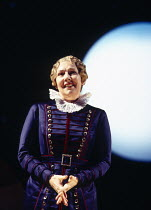 Felicity Palmer (Dame Carruthers) in THE YEOMEN OF THE GUARD by Gilbert & Sullivan at Welsh National Opera, Cardiff, Wales 13/12/1994 conductor: Gareth Jones set design: Peter J Davison costumes: Nick...